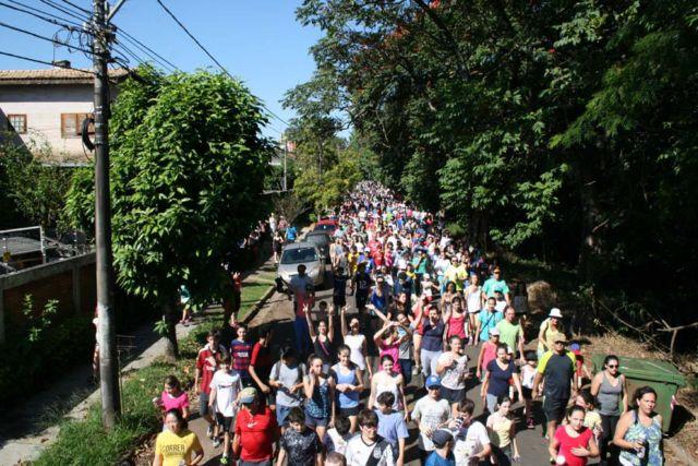 Caminhada Saudável Colégio Rio Branco 2016